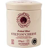 Cropwell Bishop Blue Stilton Ceramic Jar 200g Set of 6